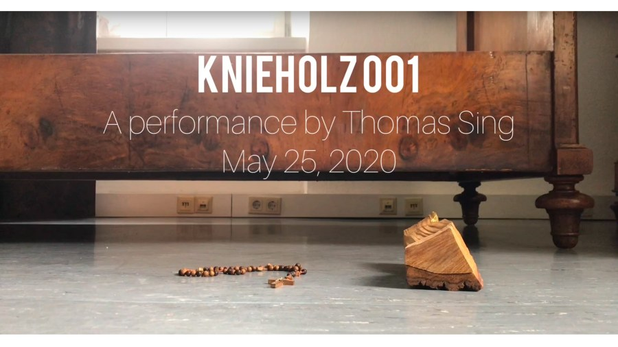 KNIEHOLZ 001 – VIDEO PERFORMANCE